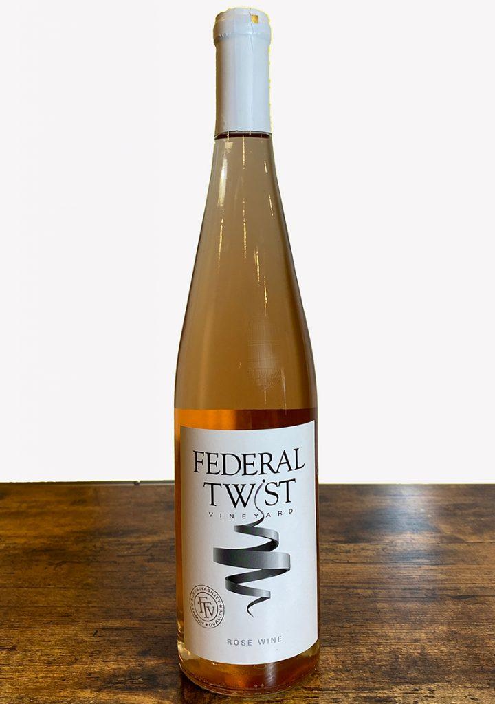 Federal Twist Vineyards Rose'