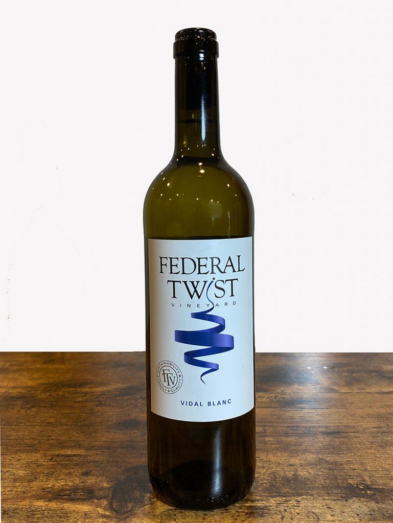Federal Twist Vineyards Vidal Blanc
